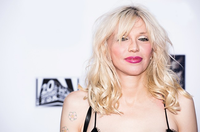 """Courtney Love attends FX's """"Sons Of Anarchy"""" Premiere 2014"""