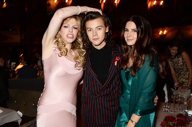 Courtney Love, Harry Styles, and Lana Del Rey