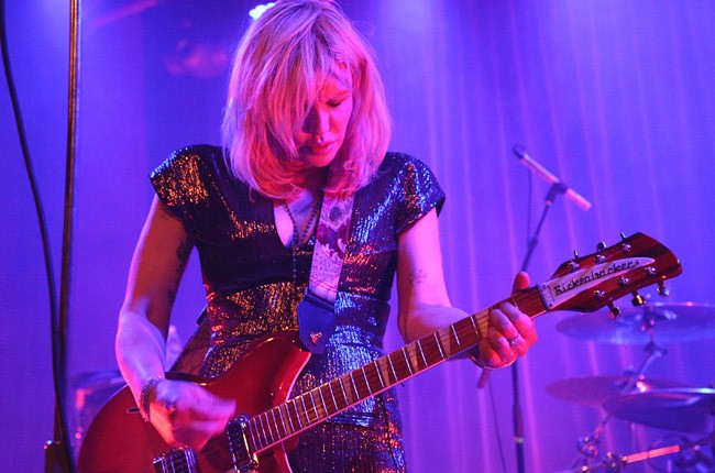 Courtney Love performs in Brooklyn on June 26 (credit: Taylor Hill, WireImage)