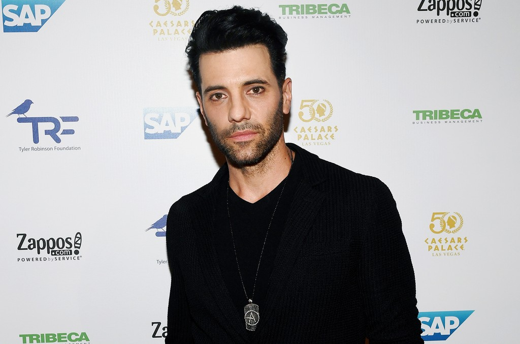 Criss Angel attends the third annual Tyler Robinson Foundation gala benefiting families affected by pediatric cancer at Caesars Palace on Sept. 30, 2016 in Las Vegas.