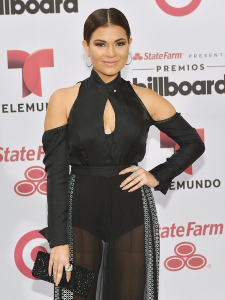 Cristal Marie arrives at 2015 Billboard Latin Music Awards