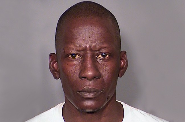 Darnell Carlton AKA Crunchy Black, formerly of Three 6 Mafia arrested booking photo