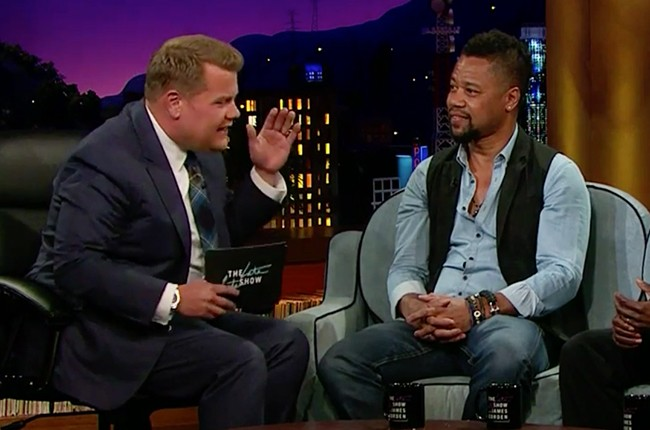 Cuba Gooding, Jr. on The Late Late Show with James Corden