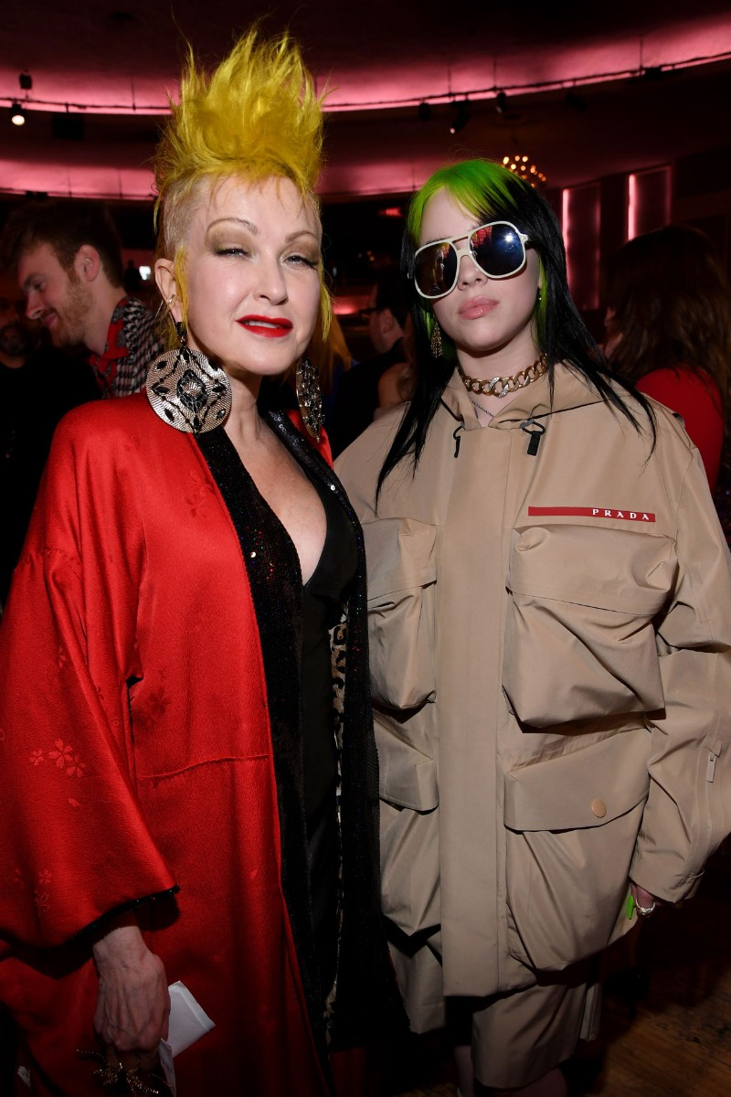 Cyndi Lauper and Billie Eilish