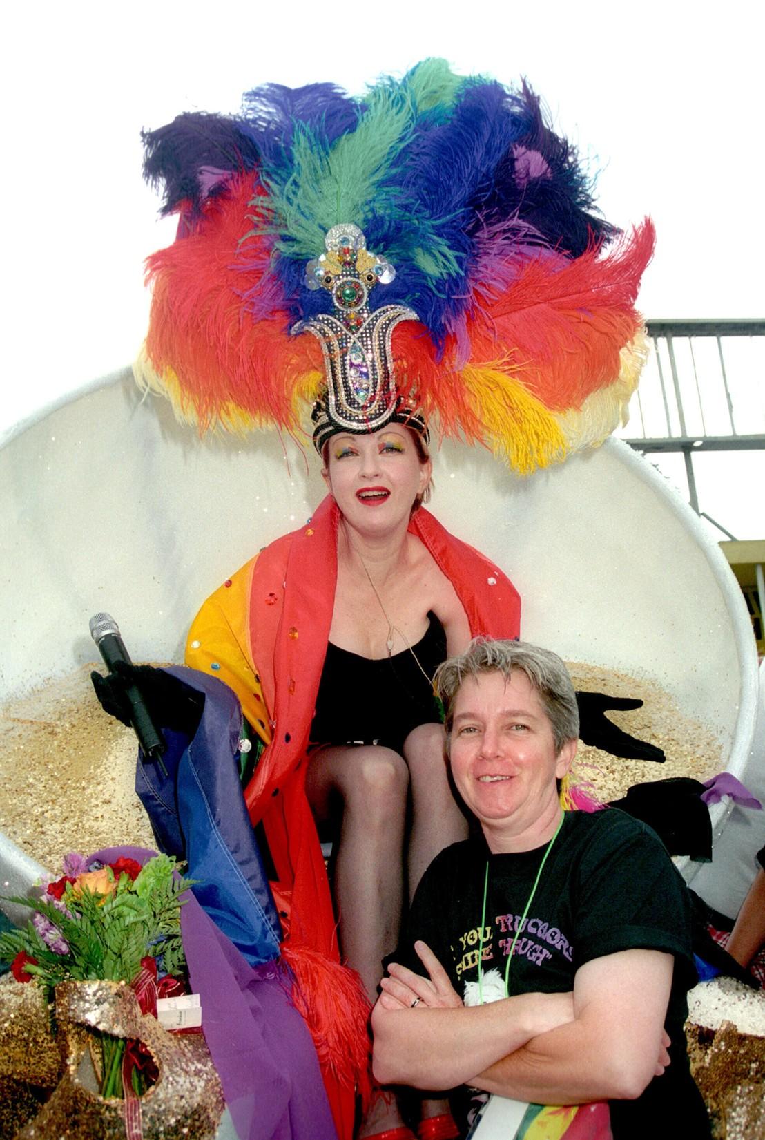 Cyndi Lauper & Ellen Lauper, 2003