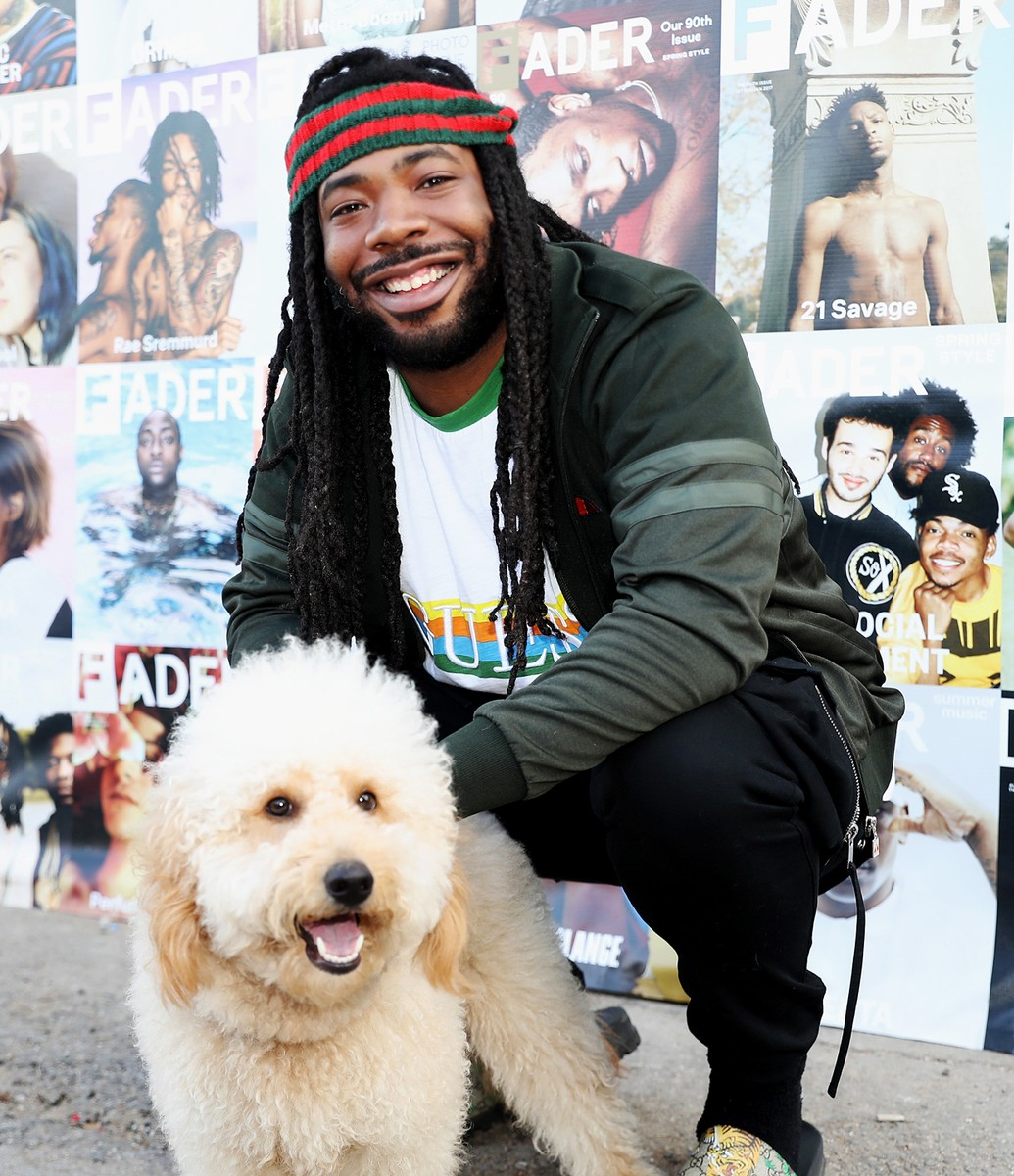 D.R.A.M. poses backstage at Dream Hotels artist lounge at The FADER FORT as part of the SXSW Conference And Festivals on March 17, 2017 in Austin, Texas.