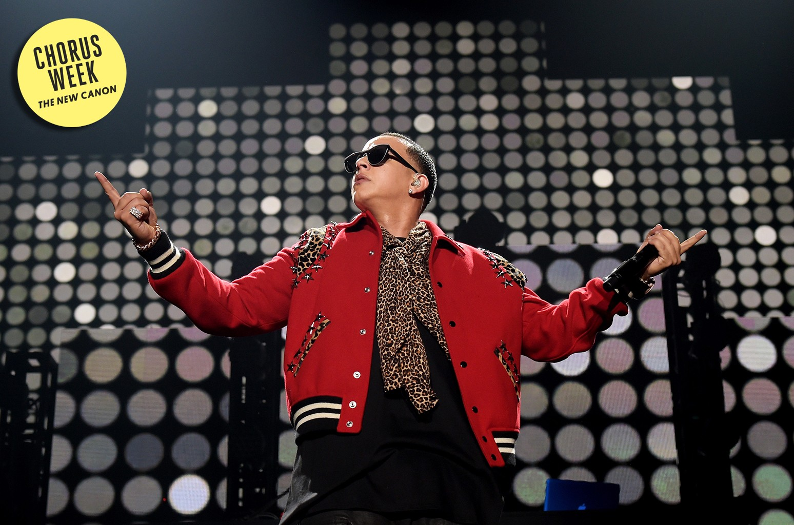 Daddy Yankee performs onstage during the iHeartRadio Fiesta Latina festival presented by Sprint at The Forum on Nov. 22, 2014 in Inglewood, Calif.