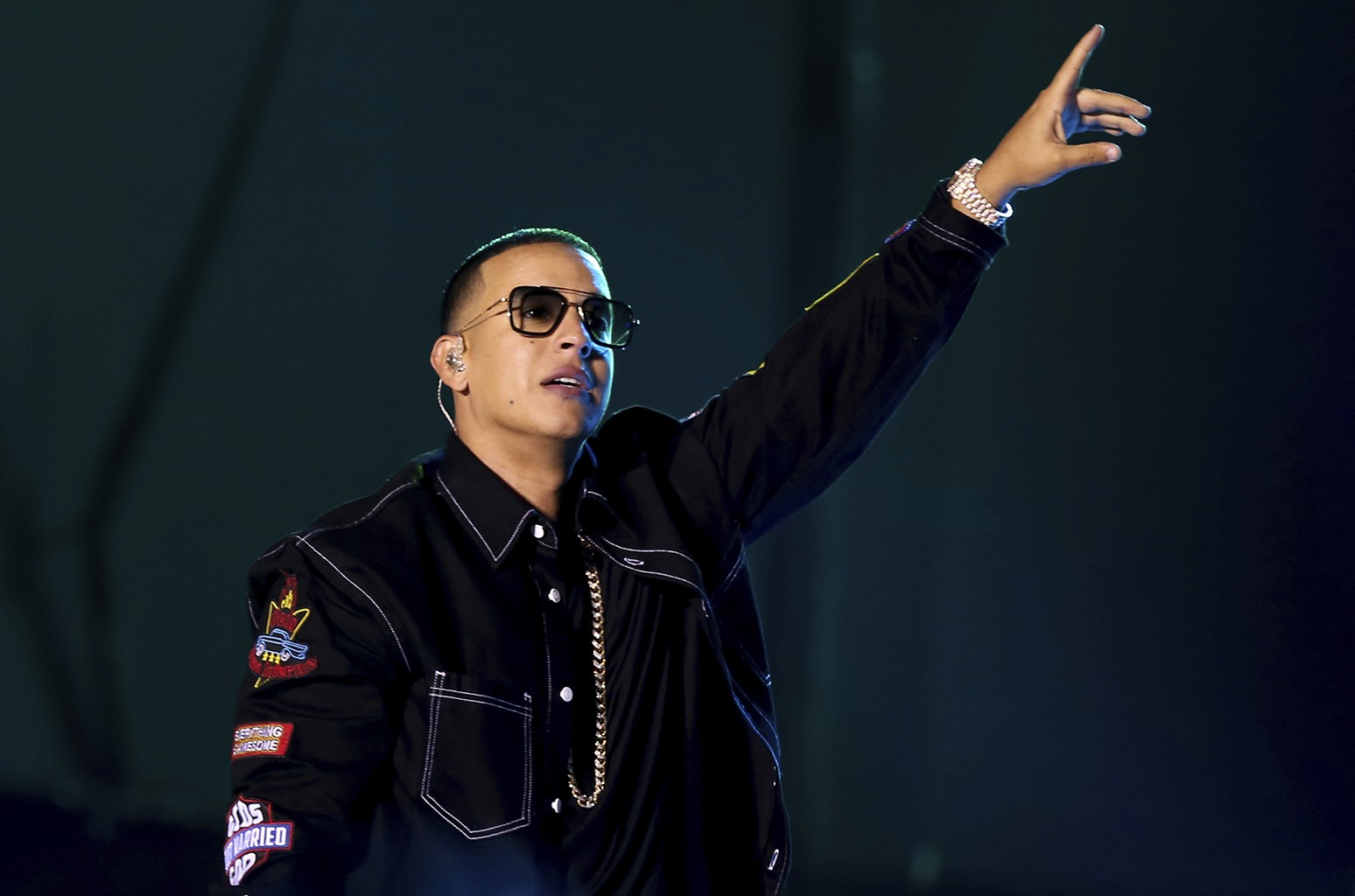 Daddy Yankee performs in 2016