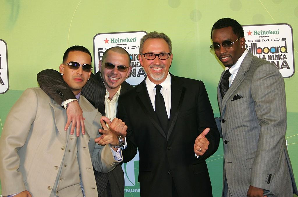 "Daddy Yankee, Pitbull, Emilio Estefan & Sean ""P Diddy"" Combs"