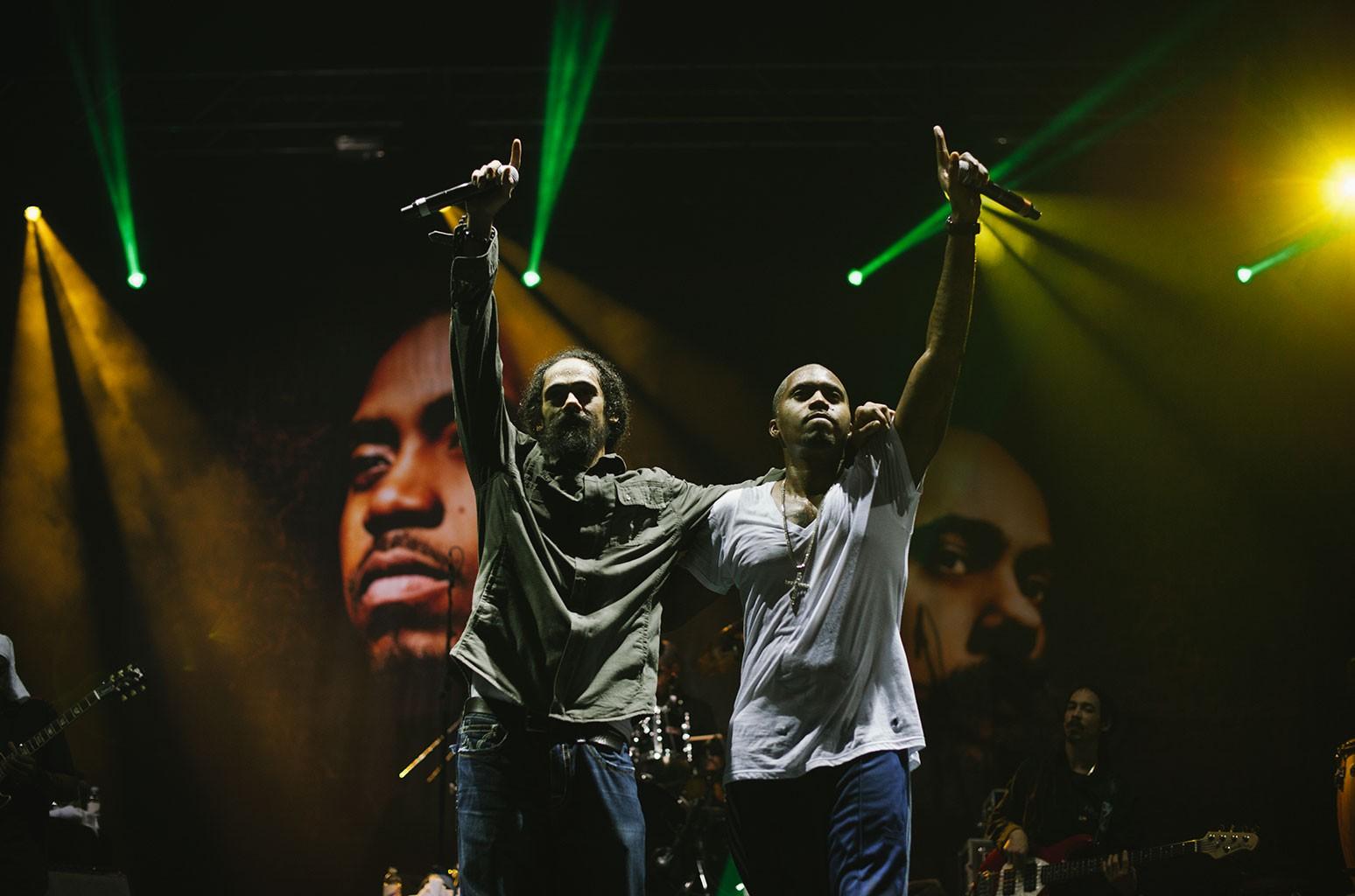 Damian Marley and Nas