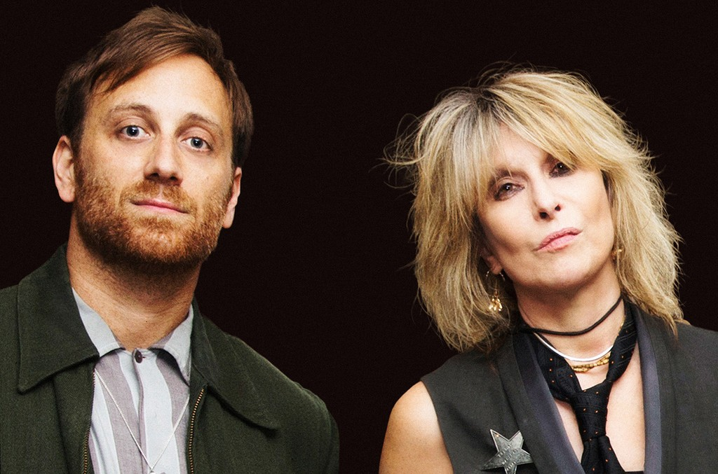 Dan Auerbach and Chrissie Hynde