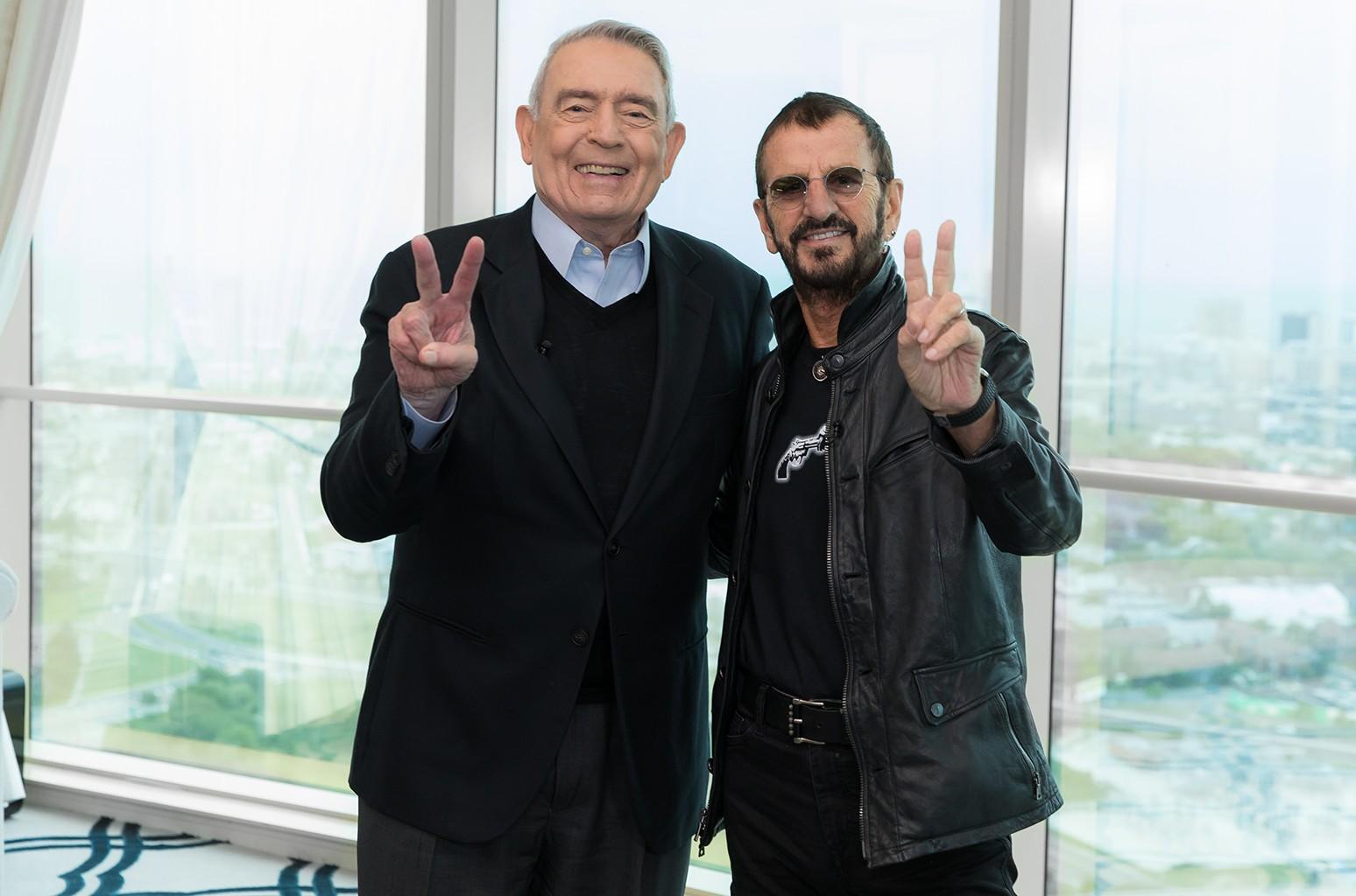 Dan Rather Ringo Starr