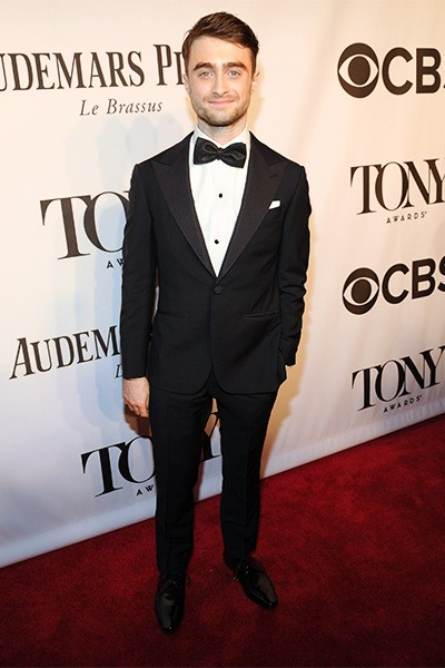 Daniel Radcliffe attends the 68th Annual Tony Awards