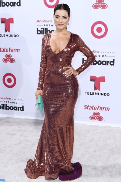 Daniela Navarro arrives at 2015 Billboard Latin Music Awards