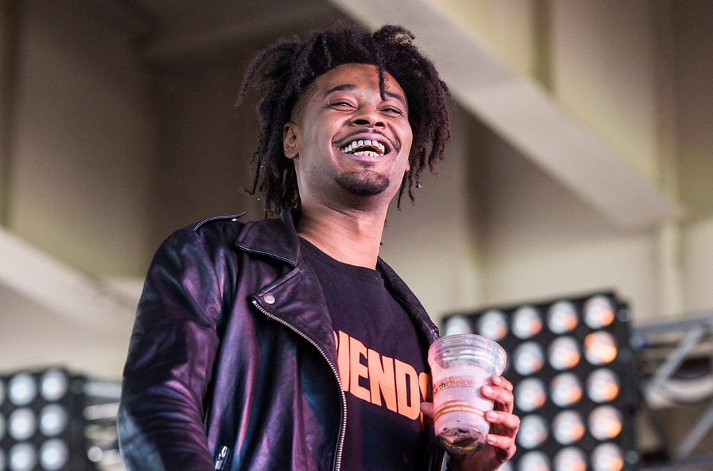 Danny Brown performs during Forecastle Festival