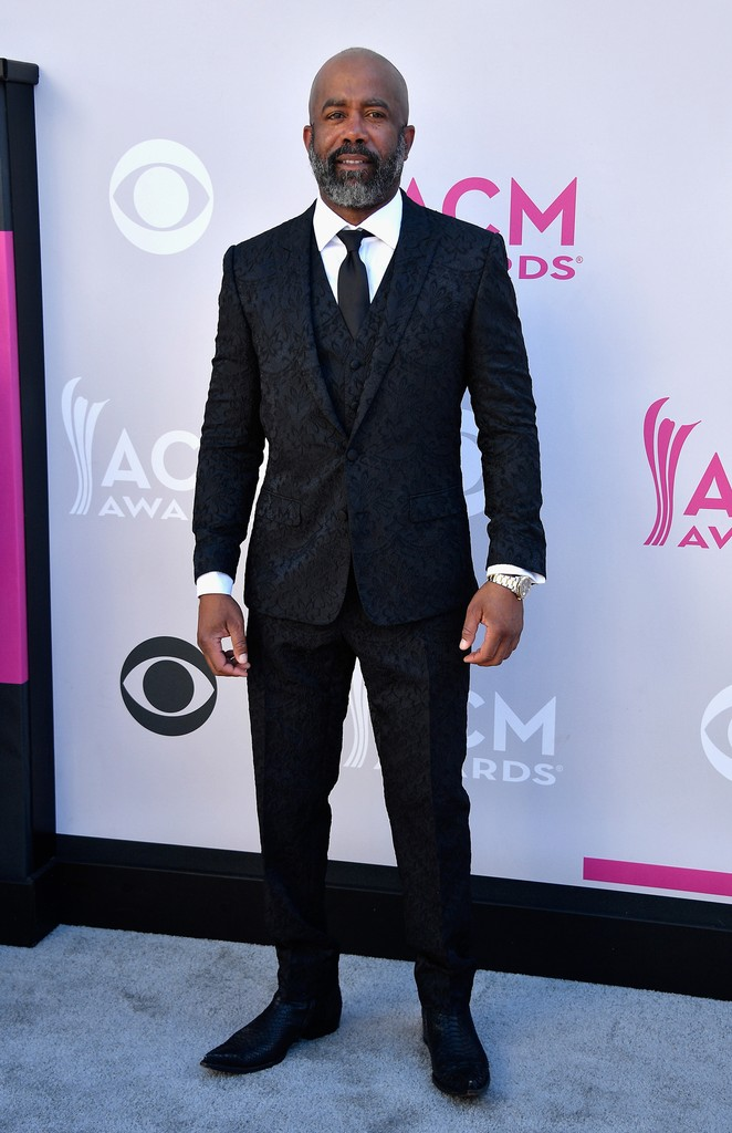Darius Rucker attends the 52nd Academy Of Country Music Awards at Toshiba Plaza on April 2, 2017 in Las Vegas.