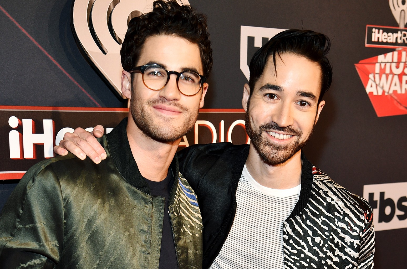 Darren Criss (L) and Chuck Criss of Computer Games