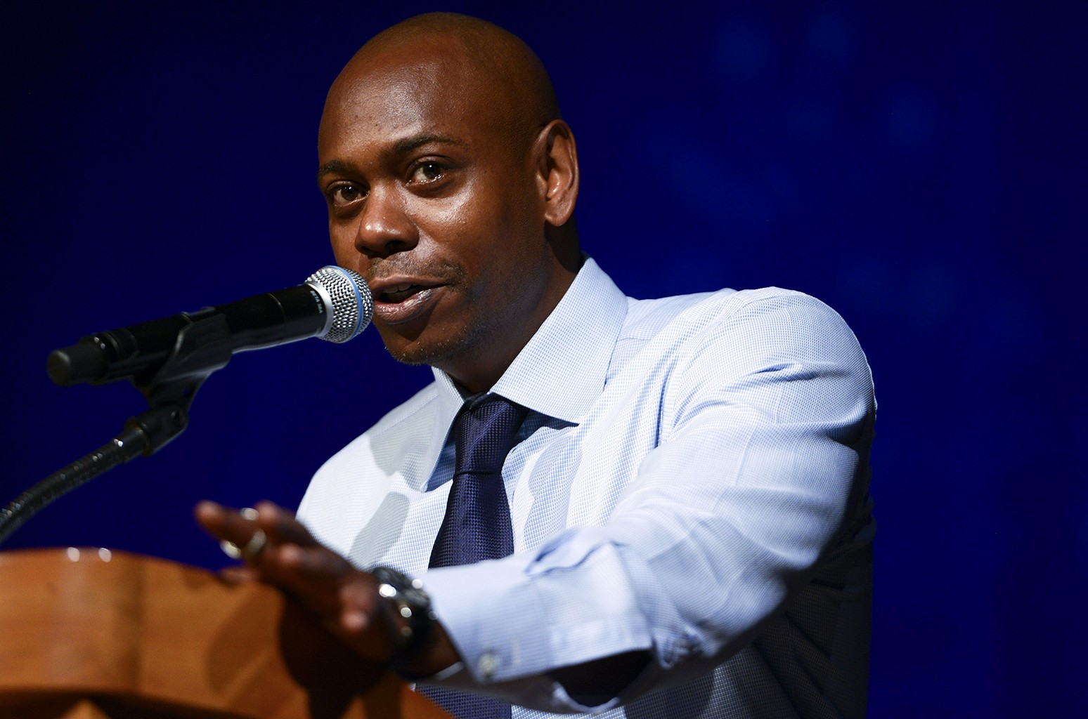 Dave Chappelle speaks on June 14, 2015 in Washington, DC.