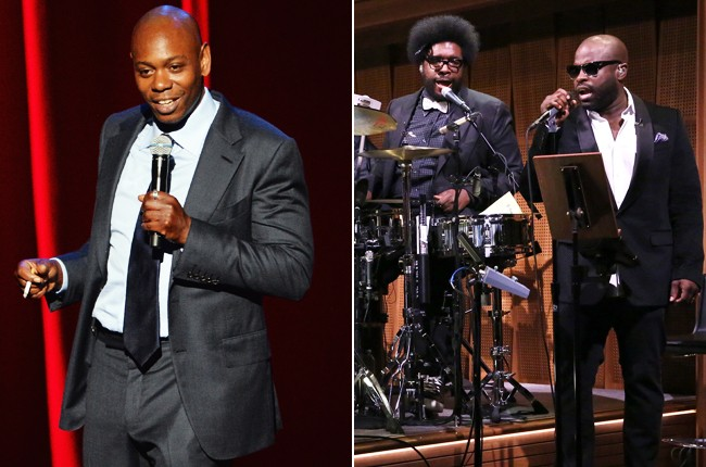 Dave Chappelle and The Roots