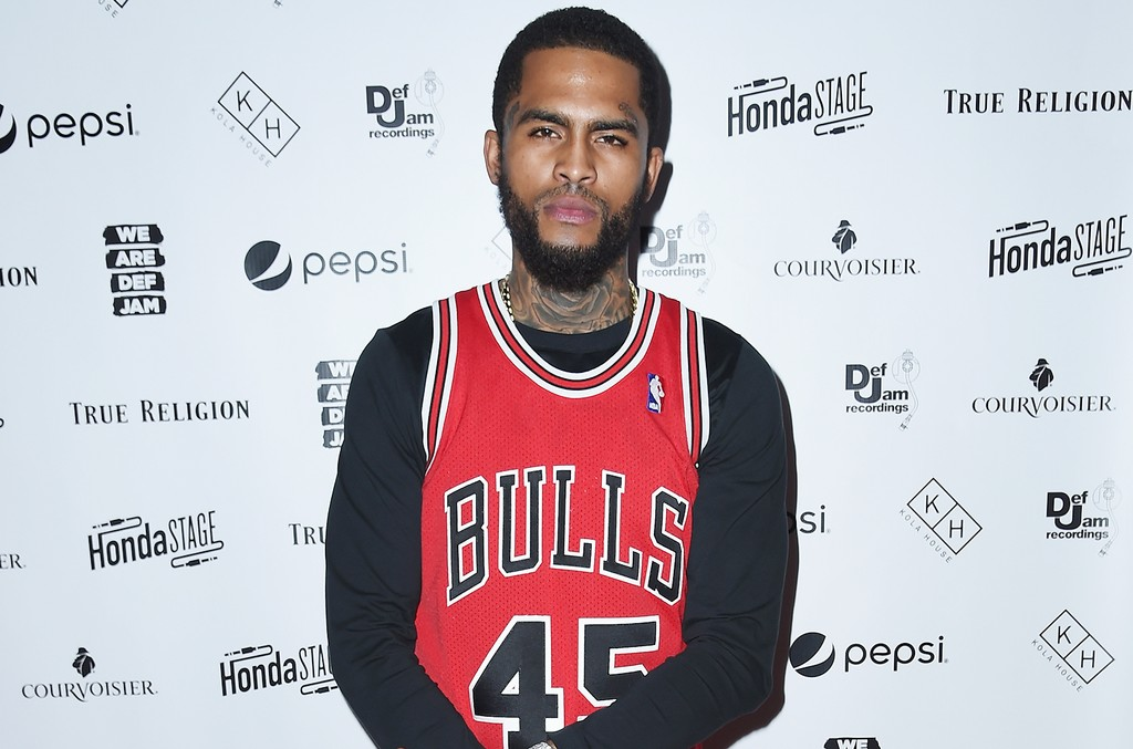 Dave East attends the 2017 Def Jam Upfronts presented by Honda Stage, Pepsi, Courvoisier, and True Religion at Kola House NYC on May 9, 2017 in New York City.