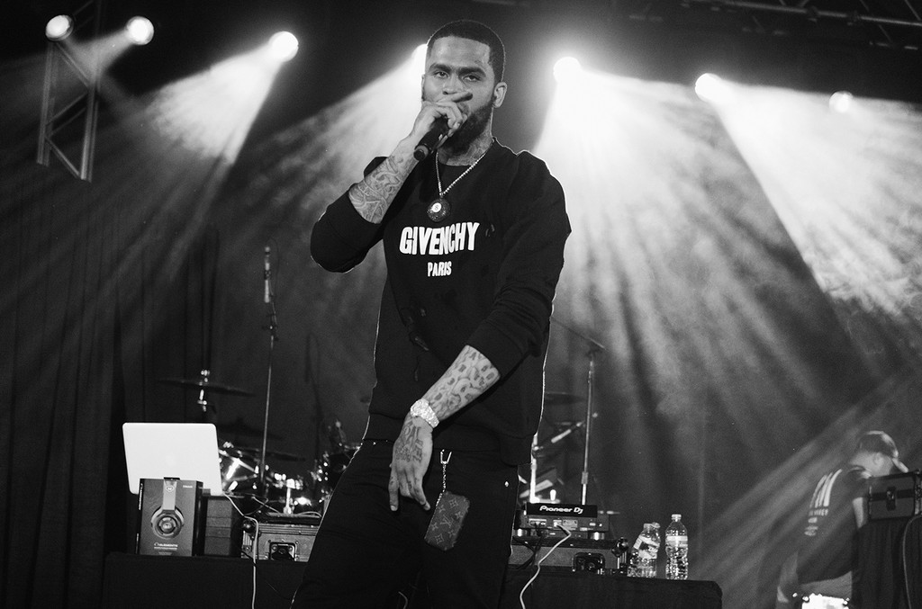 Dave East performs onstage at the Mass Appeal music showcase during 2017 SXSW Conference and Festivals at Stubbs on March 16, 2017 in Austin, Texas.