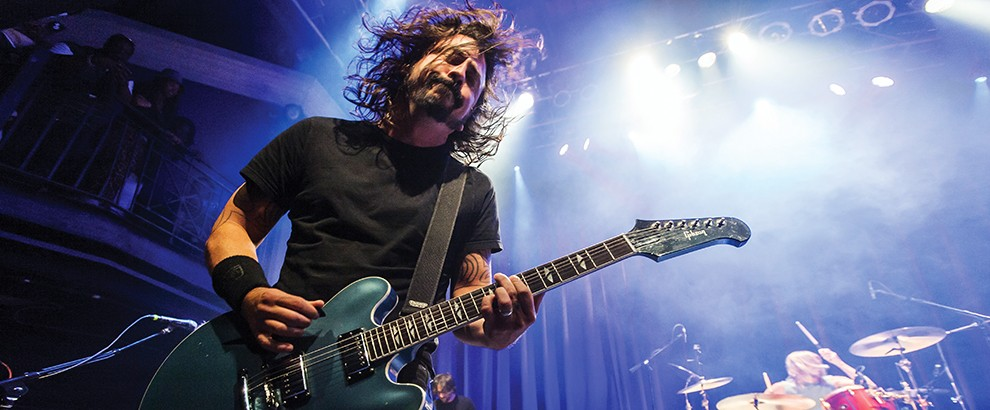 Foo Fighters performs at the 9:30 Club in Washington D.C.