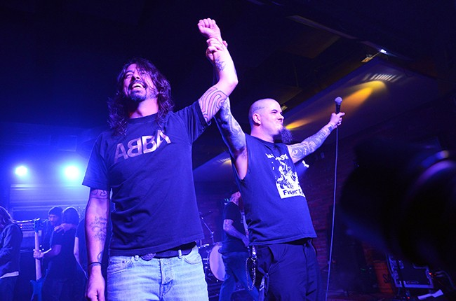 Dave Grohl Phil Anselmo