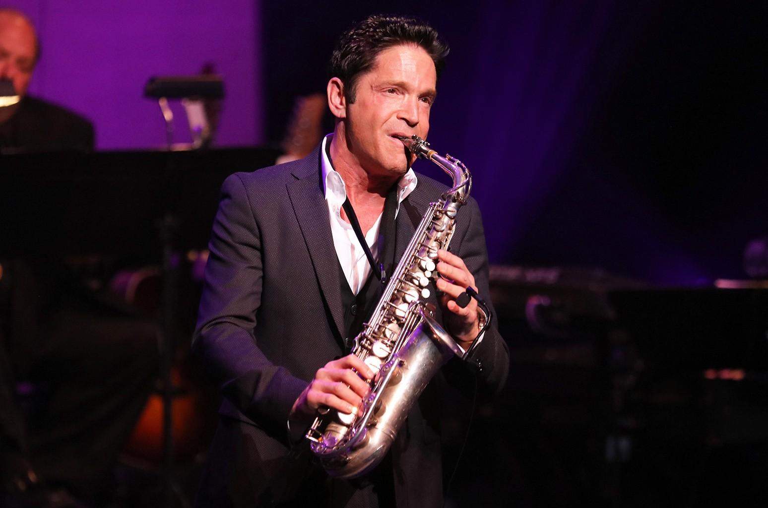 Dave Koz performs in 2015
