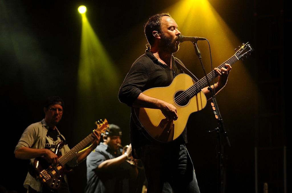 Dave Matthews of the Dave Matthews Band, 2014