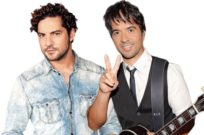 David Bisbal and Luis Fonsi