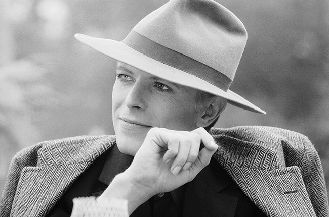 David Bowie as Thomas Jerome Newton in 1976's The Man Who Fell to Earth