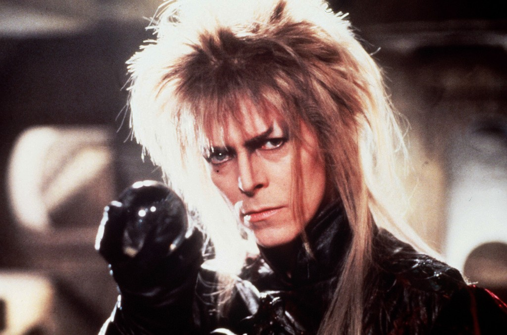 David Bowie in 'Labyrinth' in 1986.