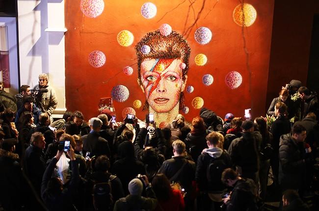 David Bowie in Brixton