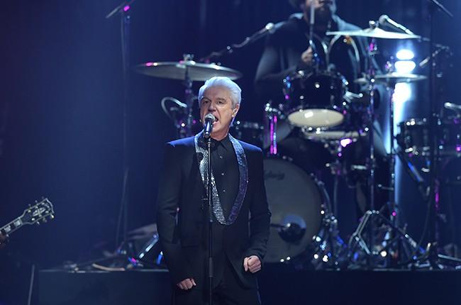 David Byrne rock hall of fame 2016