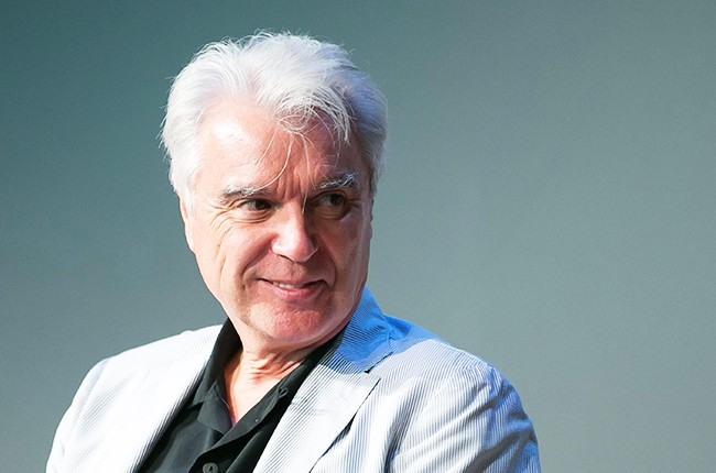 """David Byrne speaks about his musical """"Here Lies Love 2014"""