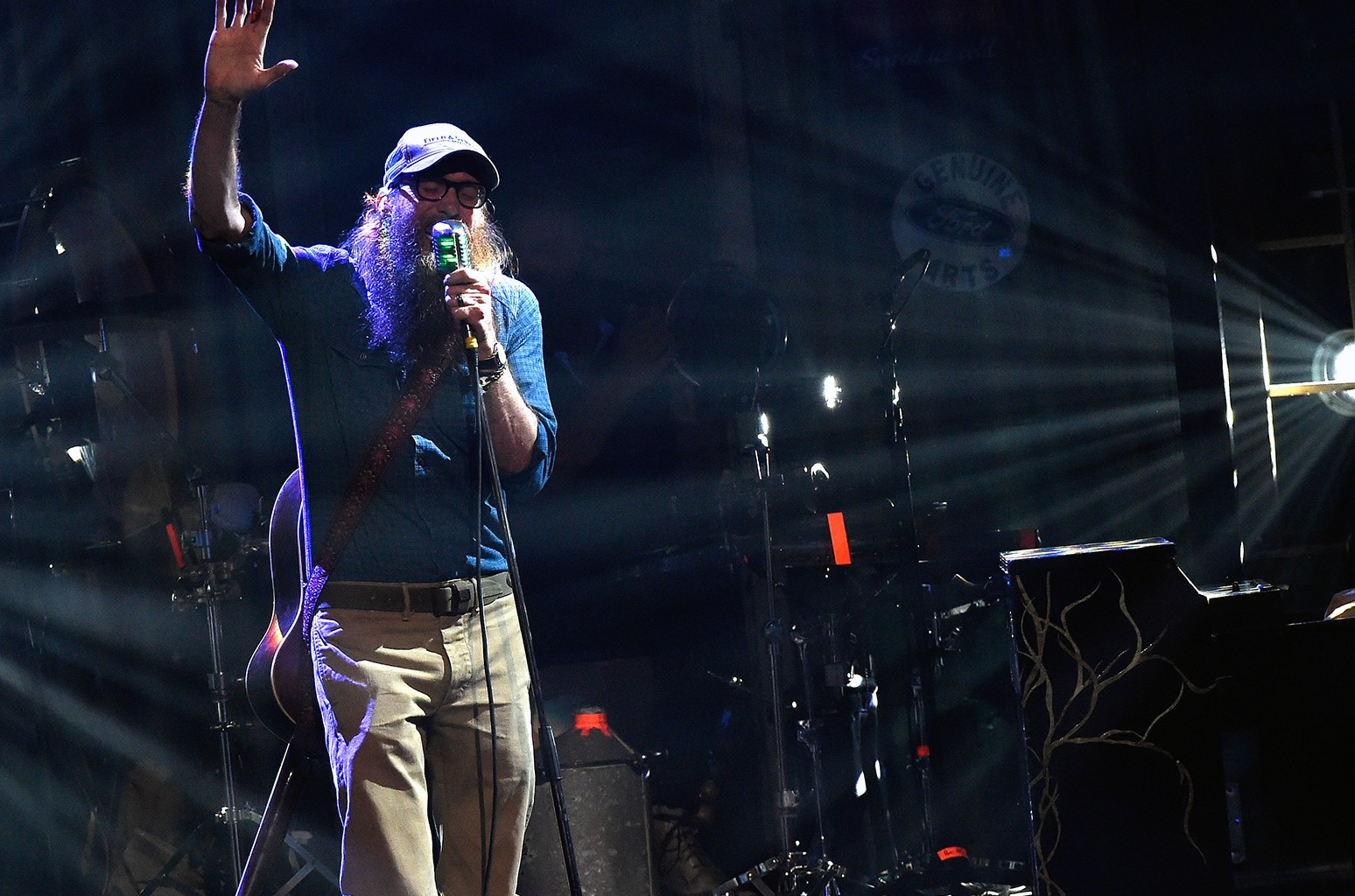 David Crowder performs in 2015
