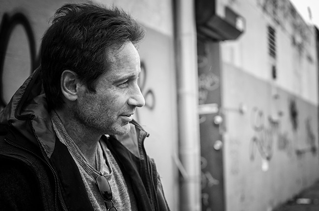 David Duchovny photographed in 2015.