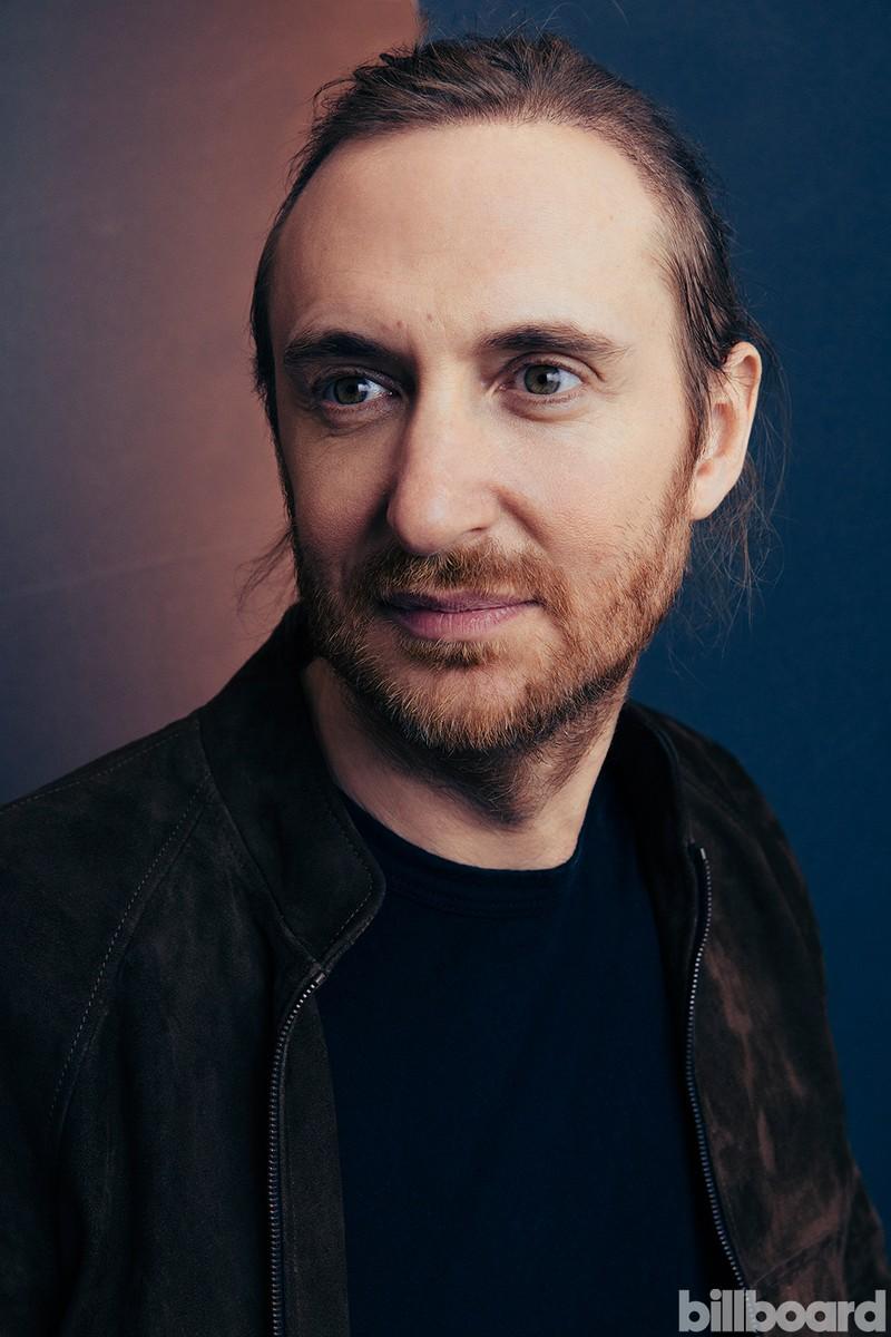 David Guetta photographed backstage at the 2016 Billboard Music Awards