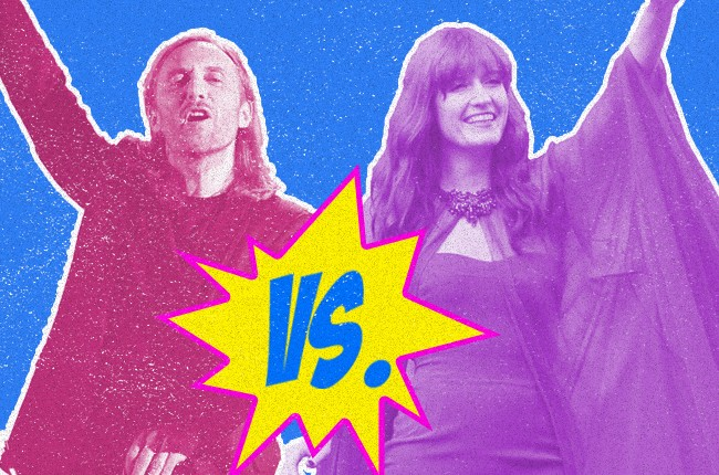 David Guetta and Florence Welch