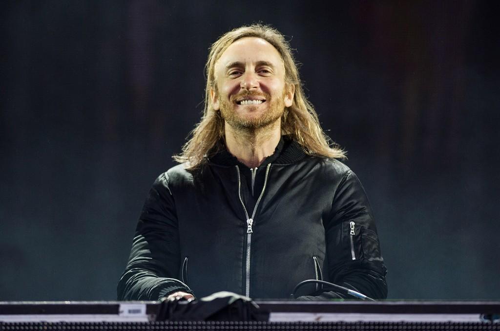 David Guetta performs in 2016
