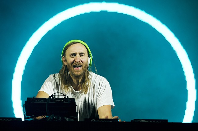 DJ David Guetta at Suburbia Music Festival