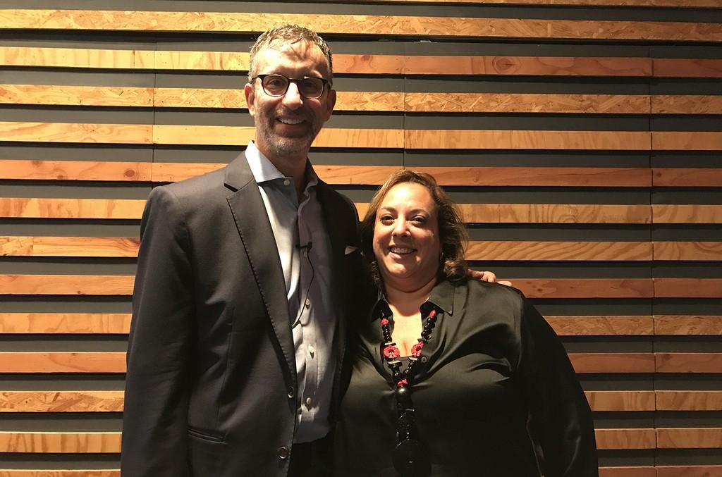 David Israelite and Alisa Coleman