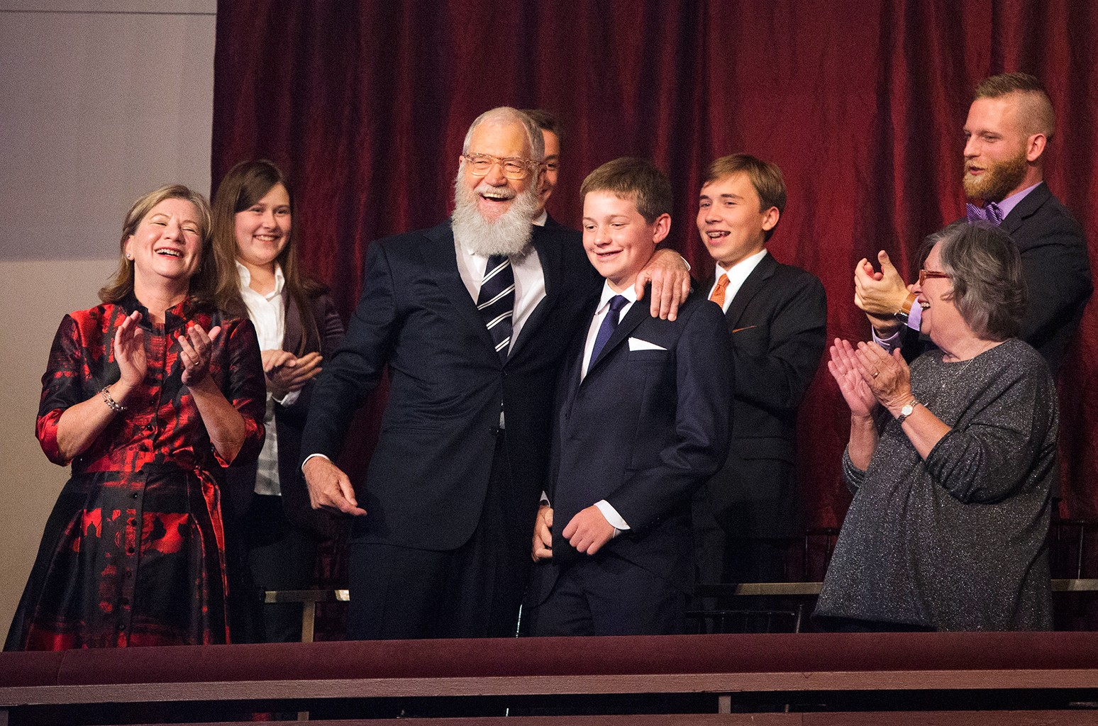 David Letterman, 2017