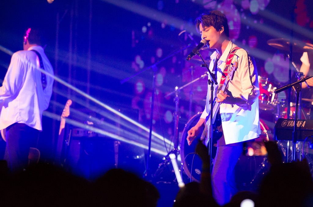 Day6 performs on Oct. 24, 2017 in New York City.
