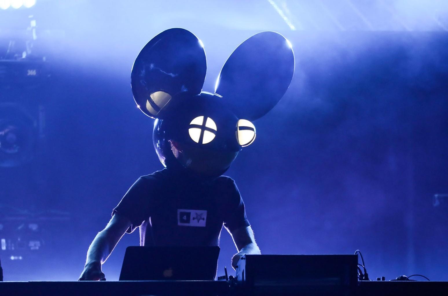 Deadmau5 performs in 2016