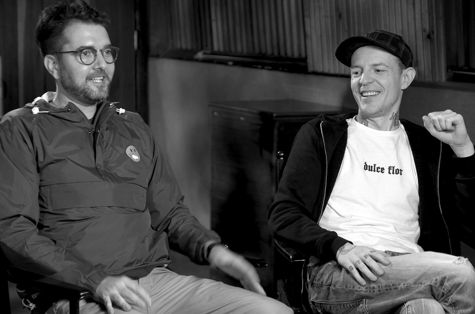 Joel Zimmerman Deadmau5 and Gregory Reveret
