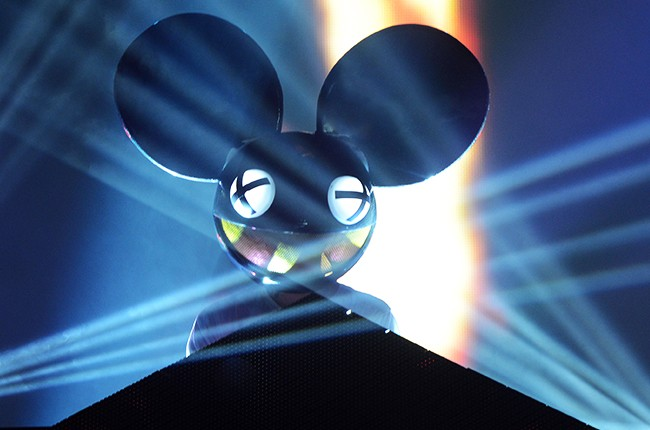 Deadmau5 performs during the 2014 Quebec City Summer Festival on July 9, 2014 in Quebec City, Canada.