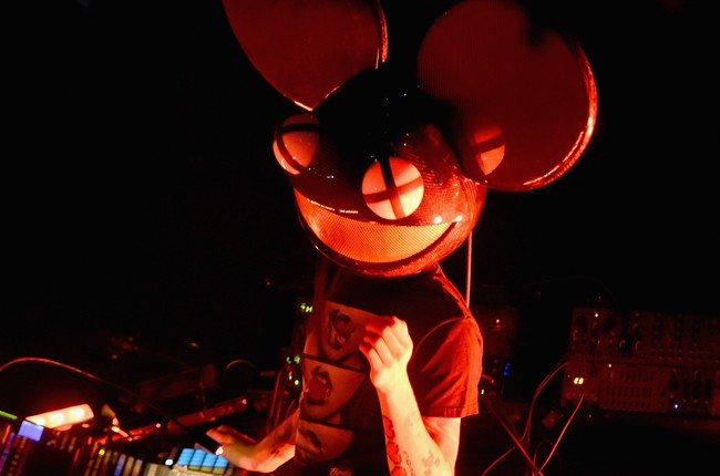 Deadmau5 performs onstage during 2015 Governors Ball