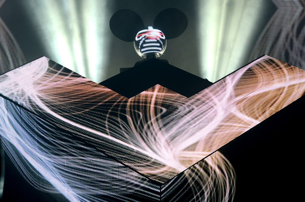 Deadmau5 performs at Ultra Music Festival