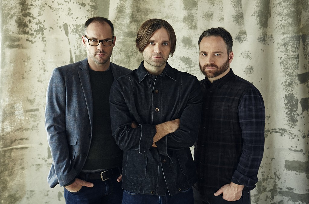 Death Cab for Cutie photographed in 2014